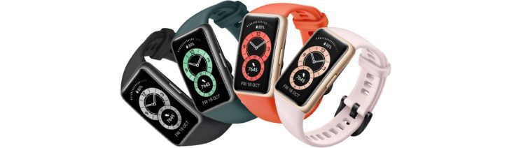 Huawei Band 6 Fitness Tracker Design