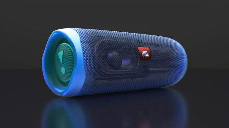 JBL Flip 5 Lautsprecher Lautsprecheranordung
