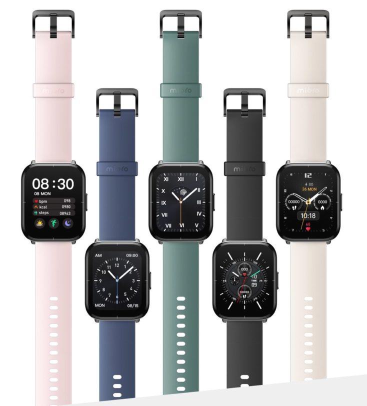 Mibro Color Smartwatch Farben