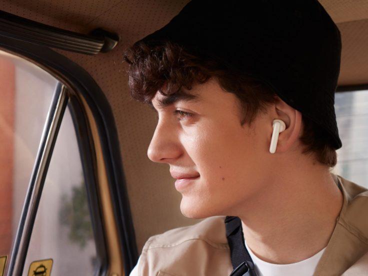 OPPO Enco Air Kopfhoerer im Ohr weiss