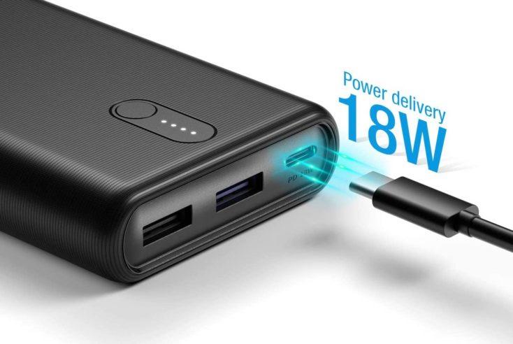POWERADD Powerbank 18W 20.000 mAh USB Ports
