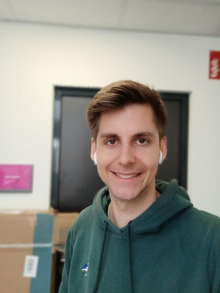 Realme 8 5G Frontkamera Testfoto Selfie Portrait