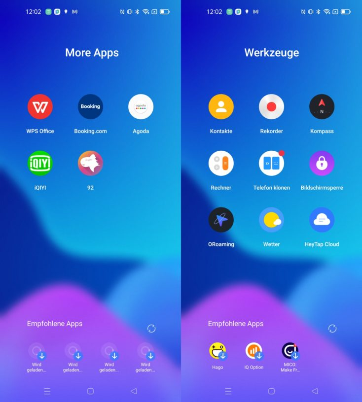 Realme 8 5G Realme UI Apps