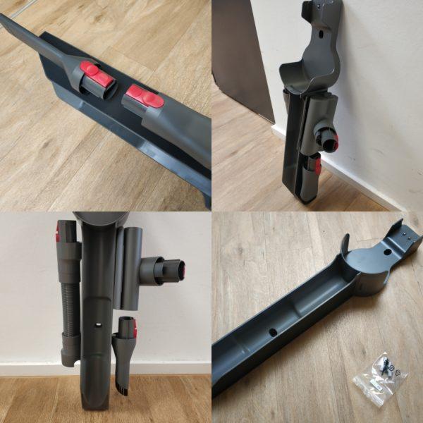 Roborock H7 Akkusauger Wandhalterung Magneten magnetisch Aufsaetze anbringen