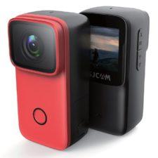 SJCAM C200 Mini-Kamera rot schwarz