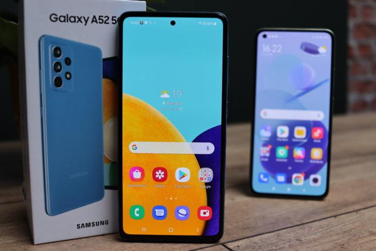 Samsung Galaxy A52 5G Smartphone Display vs Mi 11 Lite 5G