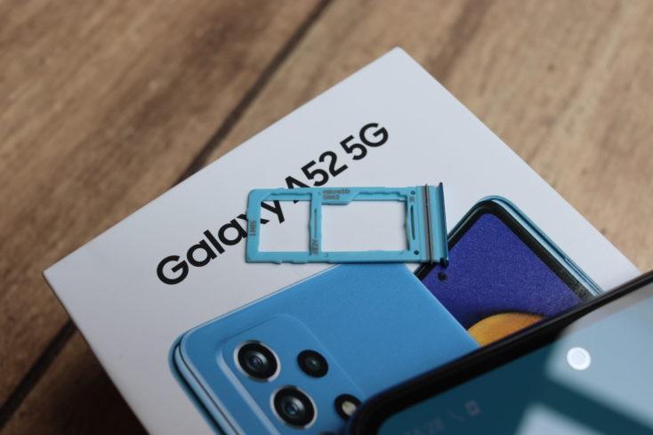 Samsung Galaxy A52 5G Smartphone Hybrid SIM
