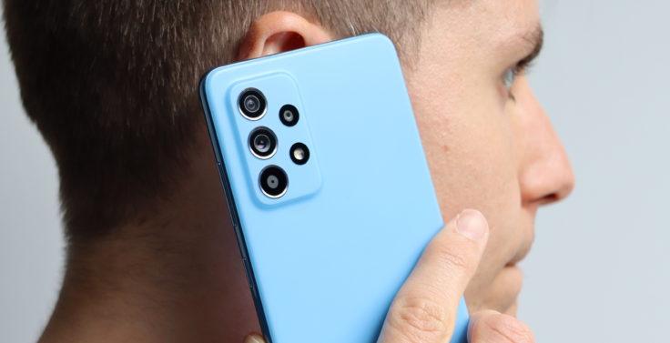 Samsung Galaxy A52 5G Smartphone Telefonieren