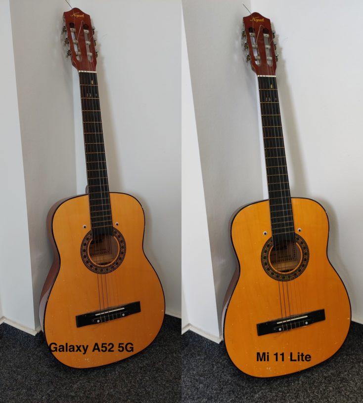 Samsung Galaxy A52 5G Testfoto Hauptkamera vs Mi 11 Lite 5G