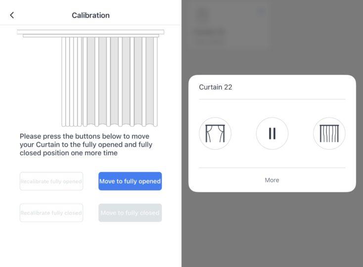 SwitchBot App Einrichtung Kalibrieren