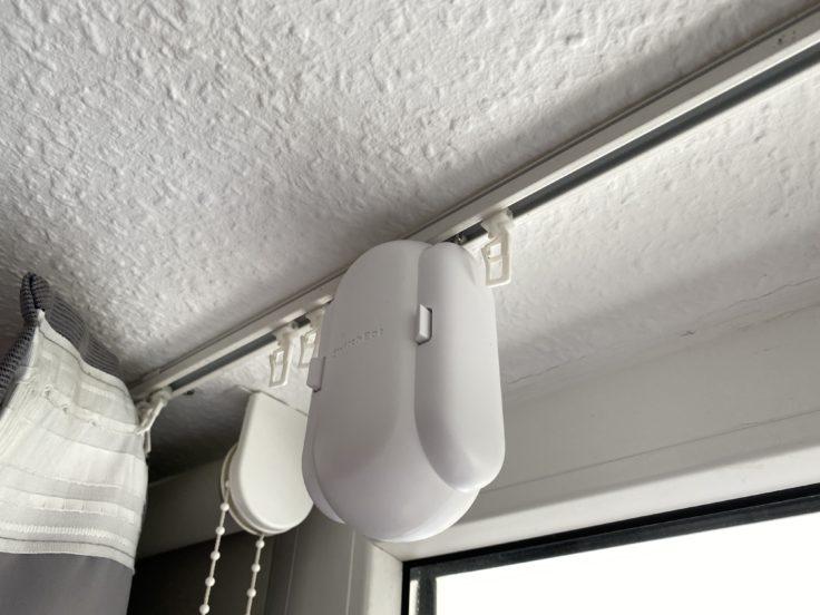 SwitchBot Vorhang Praxis