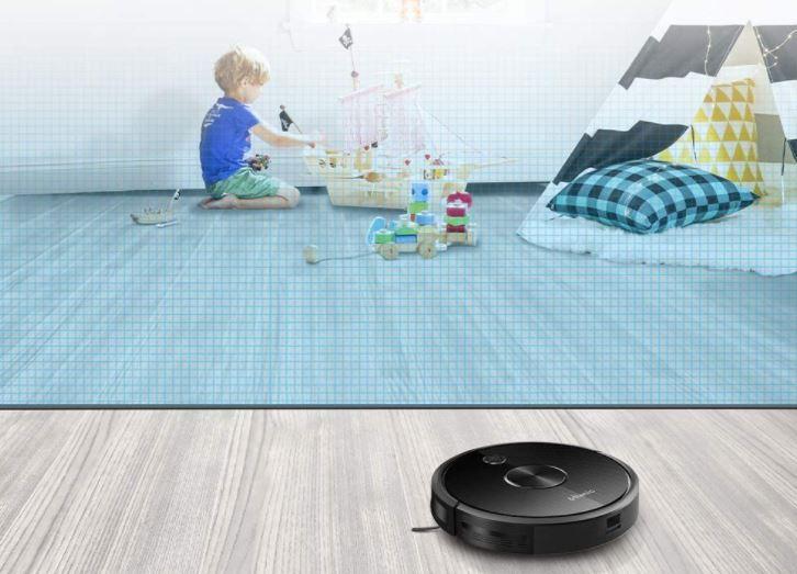 Ultenic D5 Saugroboter virtuelle Wand Magnetband