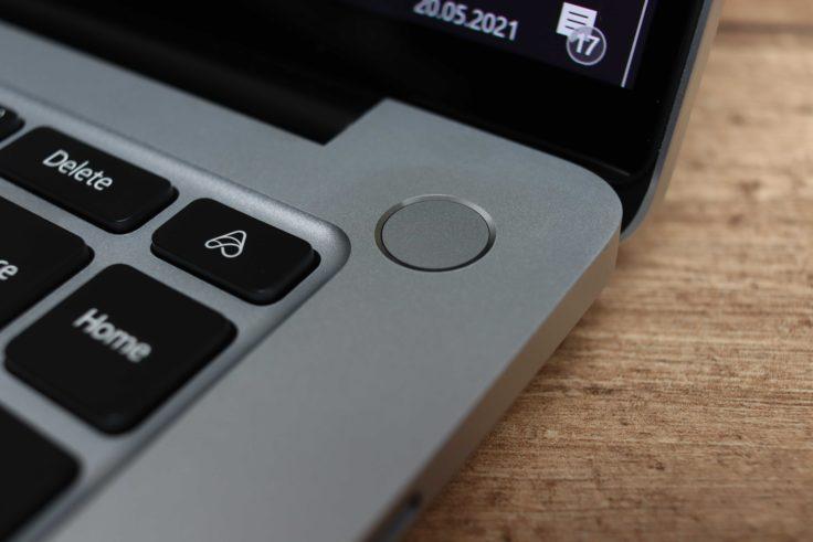 Xiaomi Laptop Pro 15 Notebook Fingerabdruckscanner