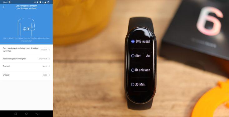 Xiaomi Mi Band 6 Anheben BNS