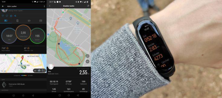 Xiaomi Mi Band 6 Laufen mit GPS