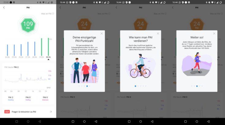 Xiaomi Mi Band 6 PAI