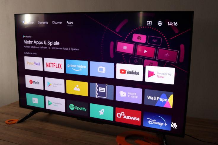 Xiaomi Mi TV P1 Fernseher Apps