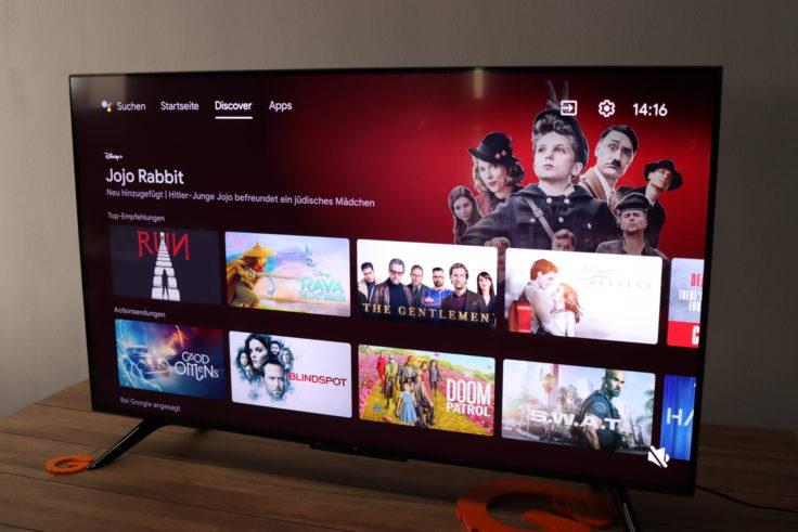 Xiaomi Mi TV P1 Fernseher Discoverpage