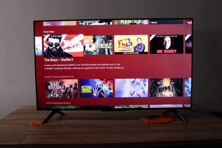 Xiaomi Mi TV P1 Fernseher Front
