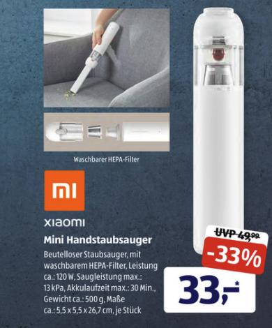 Xiaomi Mini Handsauger ALDI SUED