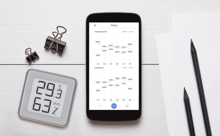 Azarton Hygrometer App Smartphone Daten Messungen