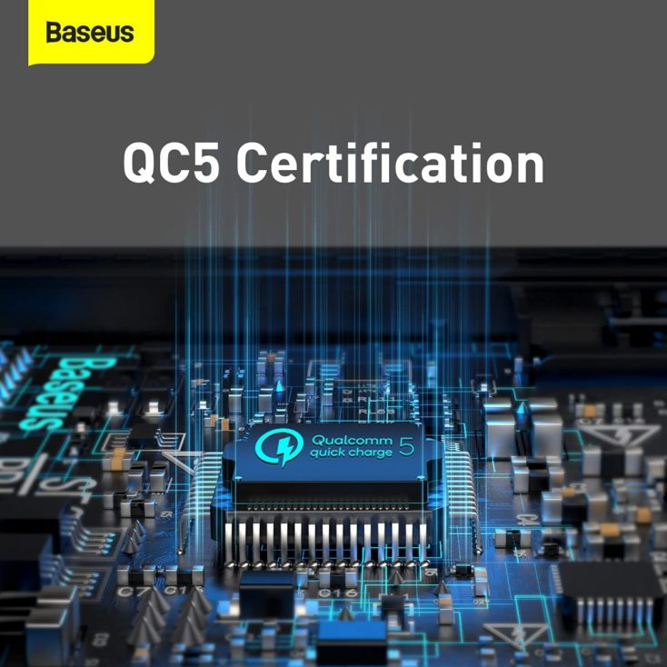 Baseus 100W USB C Ladegeraet Quick Charge 5 Standard