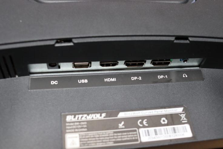 BlitzWolf BW-GM3 Monitor Anschluesse
