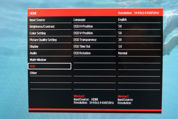 BlitzWolf BW-GM3 Monitor OSD