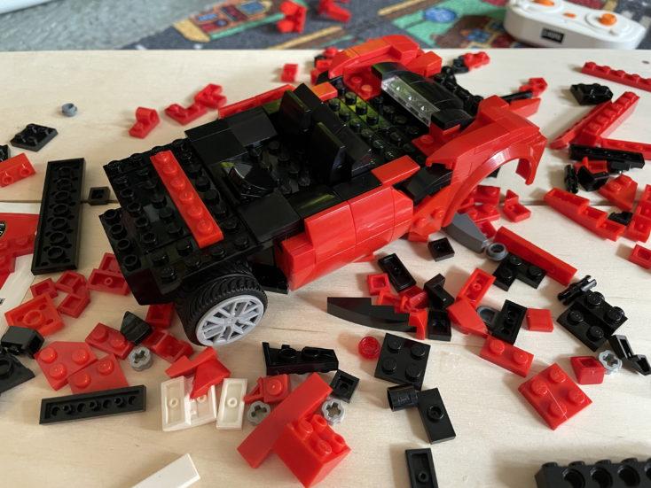 CaDA RC Auto rot Inhalt 3