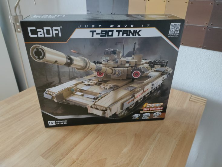 CaDA T90 Panzer C61003W Box