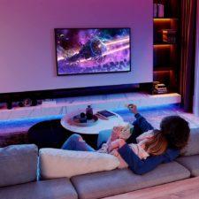 Govee RGB LED Streifen Wohnzimmer