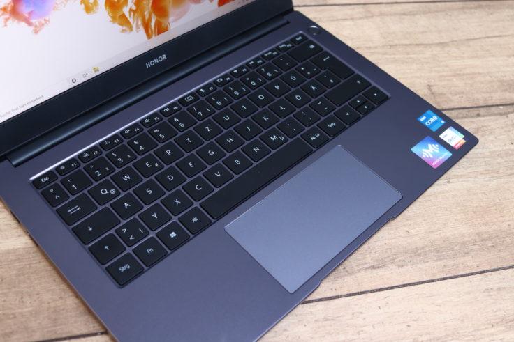 Honor MagicBook 2021 Notebook Tastatur