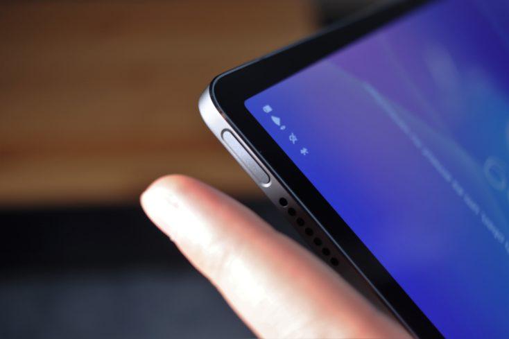 Lenovo XiaoXin Pad Pro   Lenovo Tab P11 Pro Fingerabdrucksensor