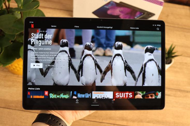 Lenovo XiaoXin Pad Pro   Lenovo Tab P11 Pro Netflix