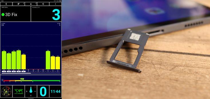 Lenovo XiaoXin Pad Pro GPS microSD Slot