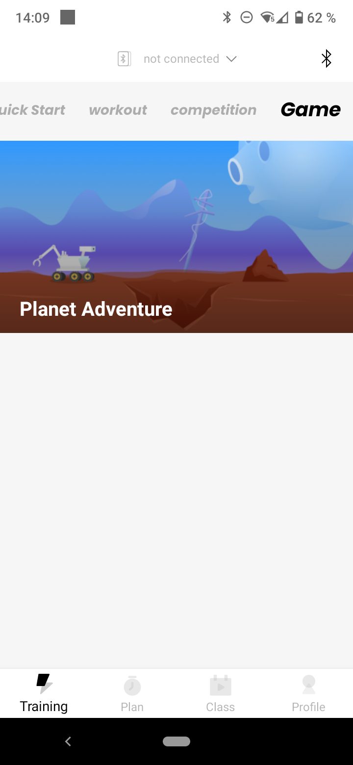 Mobi Fitness Wasser Rudergeraet App Game