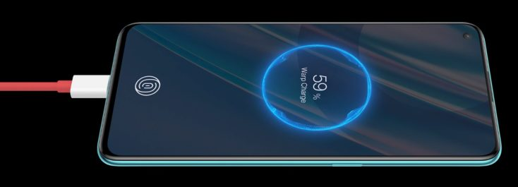 OnePlus Nord CE 5G Laden