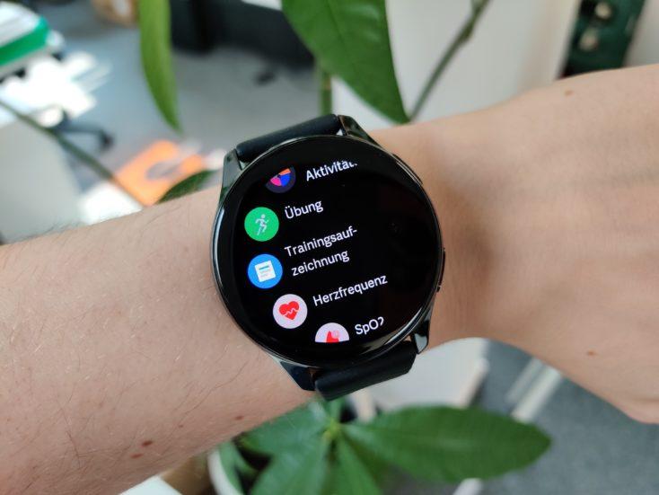 OnePlus Watch App Liste