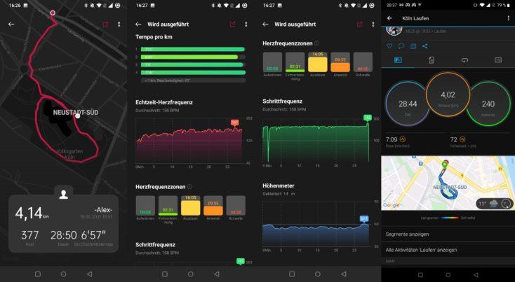 OnePlus Watch Laufen vs Garmin