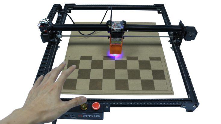 Ortur Laser Engraver Stop Taste