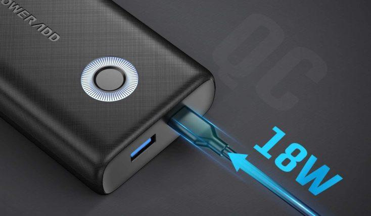POWERADD EnergyCell Powerbank USB Ports