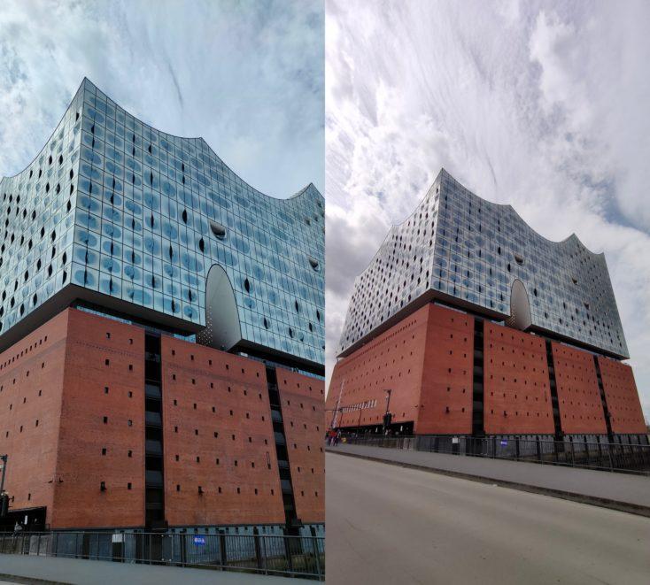 Realme GT Ultraweitwinkelkamera Testfoto Vergleich Farben