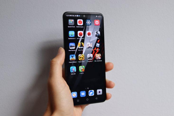 RedMagic 6R Gaming-Smartphone Display