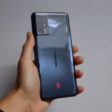 RedMagic 6R Gaming-Smartphone Rueckseite