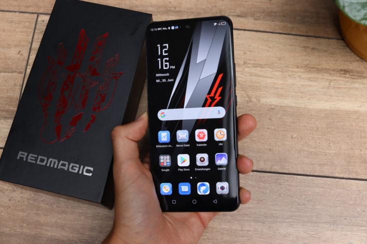 RedMagic 6R Smartphone in Hand
