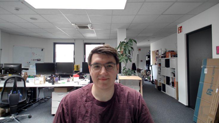 SUIRUI Webcam Testaufnahme
