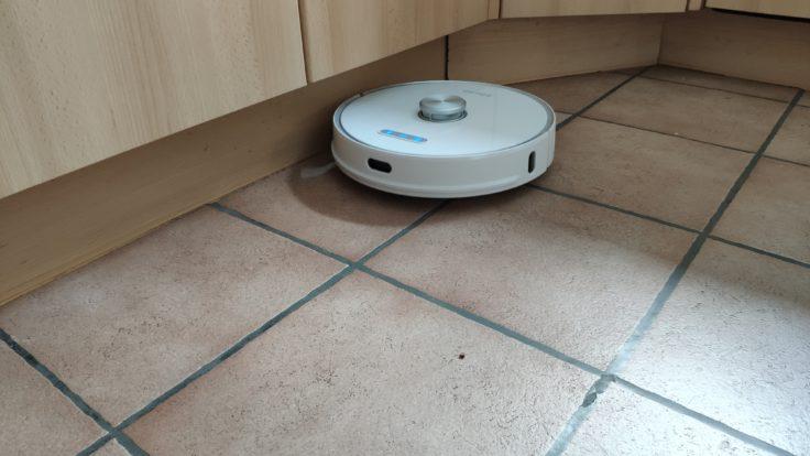 Ultenic T10 Saugroboter Reinigung Ecken