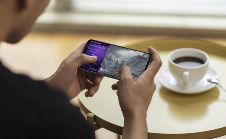 Vivo Y72 5G Smartphone Display