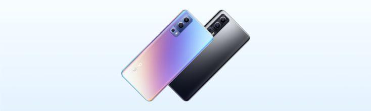 Vivo Y72 5G Smartphone Rueckseite Farben