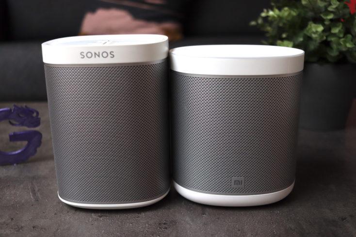 Xiaomi Mi Smart Speaker uns Sonos Play1